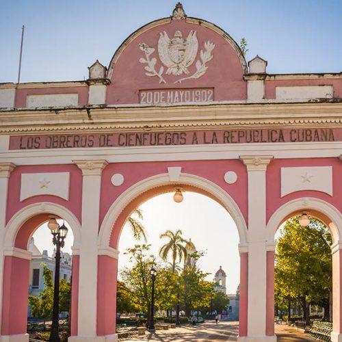 arco del trionfo Jose Marti Park