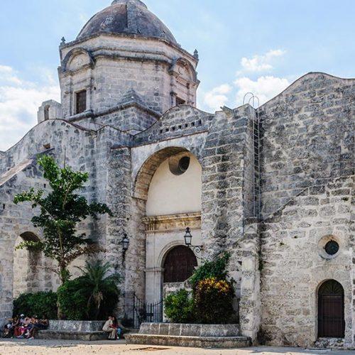 Chiesa antica Havana Cuba