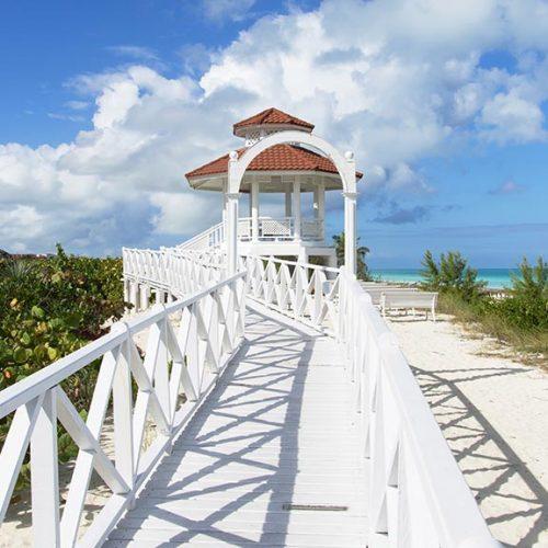 Spiaggia bianca in Cayo Santa Maria Cuba