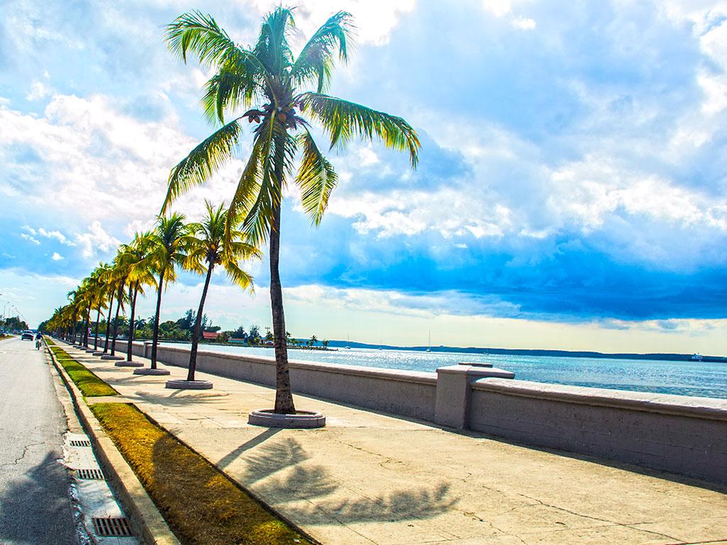 Lungomare di Cienfuegos, Cuba