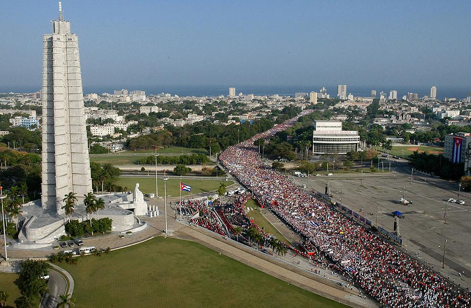 Cuba celebra il 1°Maggio