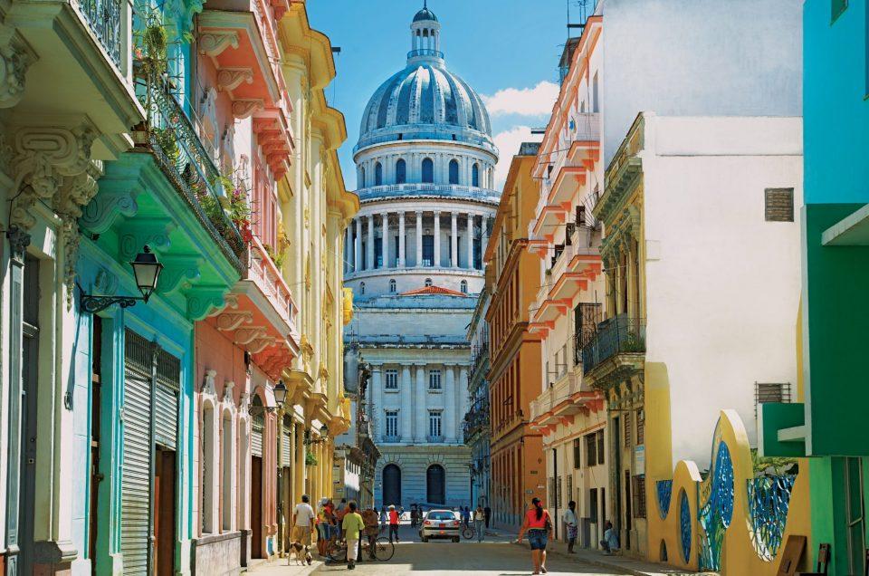 L'Habana Vieja o Avana vecchia.