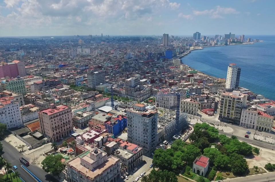 Veduta aerea dell'Avana