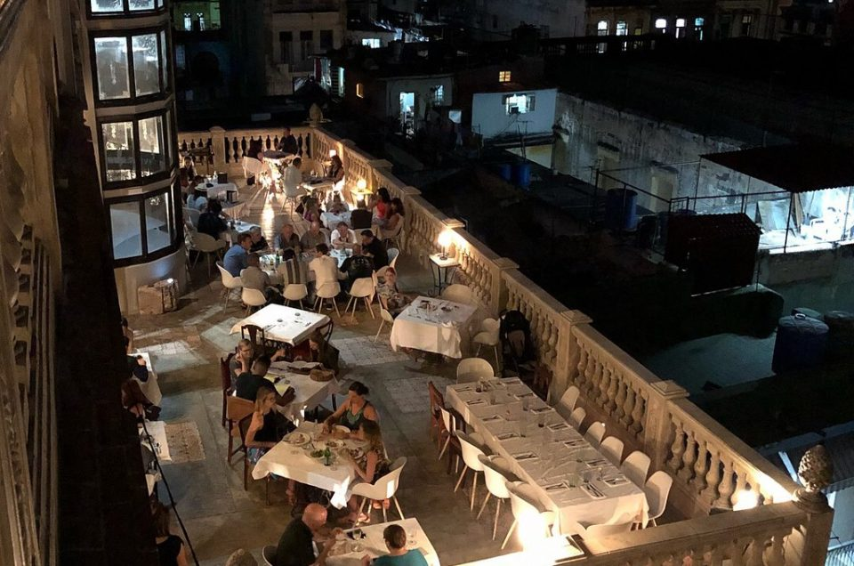 Una cena speciale all'Avana