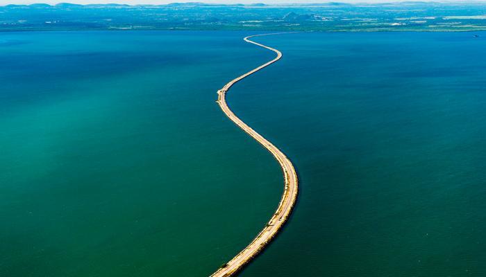 Il terrapieno più lungo del mondo che porta ai Cayos di Cuba